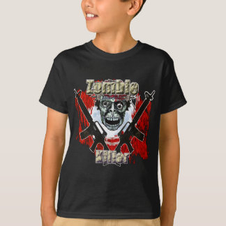 Asesino 4 del zombi playera