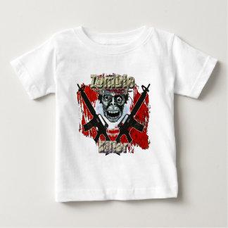 Asesino 4 del zombi playera de bebé