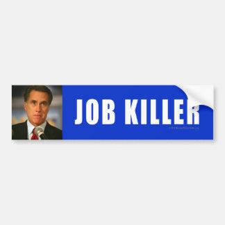 Asesino Anti-Romney del pegatina Pegatina Para Auto
