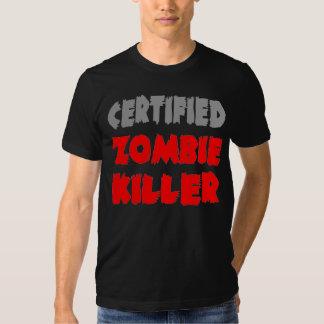 Asesino certificado del zombi poleras