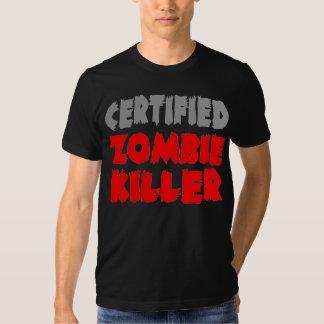 Asesino certificado del zombi remera