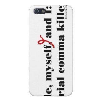 Asesino de la coma iPhone 5 fundas