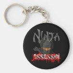 Asesino de Ninja Llaveros Personalizados