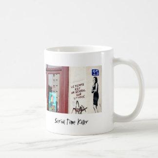 Asesino de tiempo serial taza de café