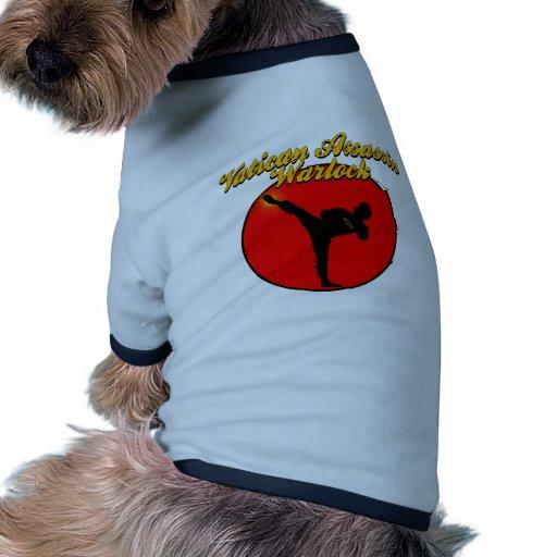 Asesino del brujo camiseta con mangas para perro
