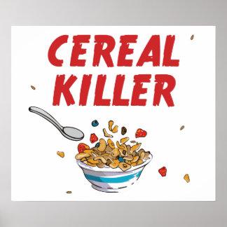 Asesino del cereal de desayuno posters