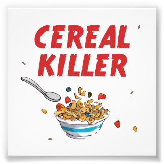 Asesino del cereal de desayuno fotografías