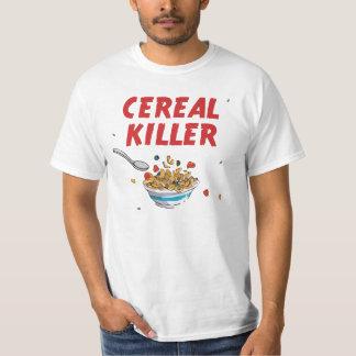 Asesino del cereal de desayuno playera