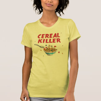Asesino del cereal de desayuno t-shirt
