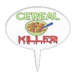 Asesino del cereal figuras para tartas