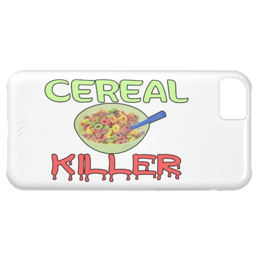 Asesino del cereal funda para iPhone 5C