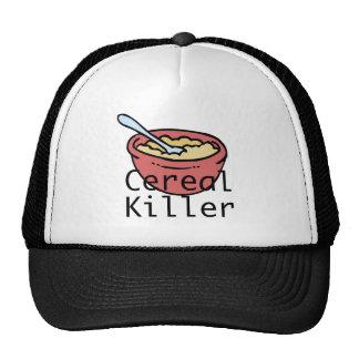 Asesino del cereal gorras