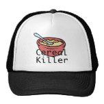 Asesino del cereal gorros bordados