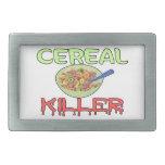 Asesino del cereal hebilla de cinturon