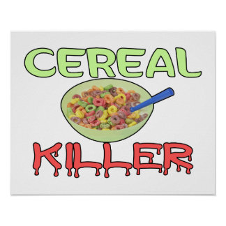 Asesino del cereal poster