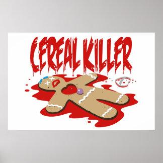 Asesino del cereal impresiones