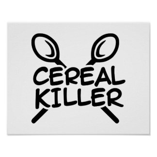 Asesino del cereal posters