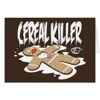 Asesino del cereal tarjeta