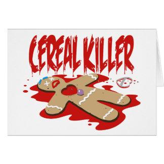 Asesino del cereal felicitaciones