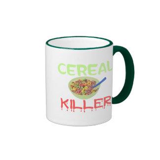 Asesino del cereal taza de dos colores