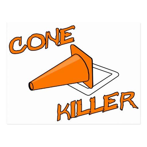 Asesino del cono tarjeta postal