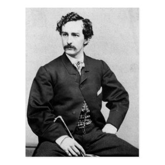 Asesino del de John Wilkes Booth de presidente L Postal