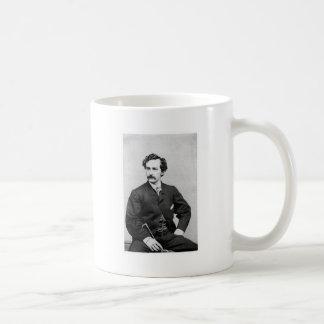Asesino del ~ de John Wilkes Booth de presidente L Taza De Café