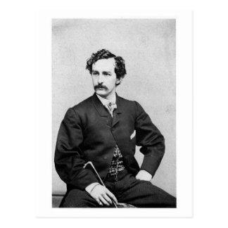 Asesino del ~ de John Wilkes Booth de presidente Postal