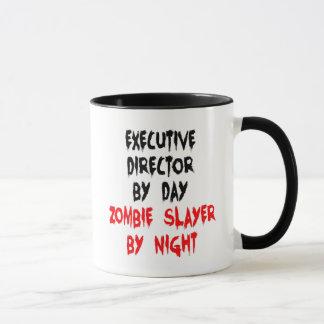 Asesino del director ejecutivo zombi taza
