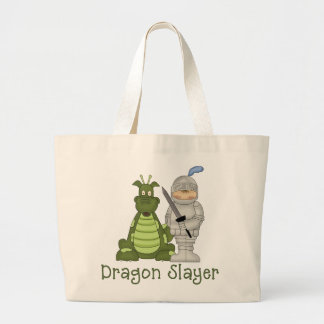 Asesino del dragón bolsa tela grande
