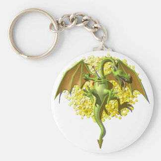 Asesino del dragón llavero redondo tipo pin