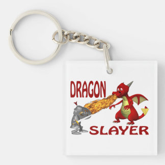 Asesino del dragón llaveros