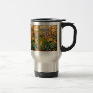 Asesino del dragón tazas de café