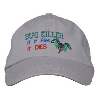 Asesino del insecto gorras bordadas