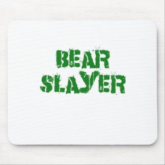Asesino del oso alfombrillas de ratón