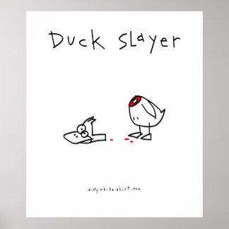 Asesino del pato póster
