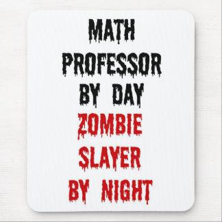 Asesino del profesor de matemáticas zombi tapete de ratones