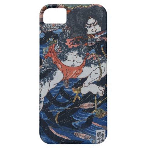 Asesino del samurai funda para iPhone SE/5/5s