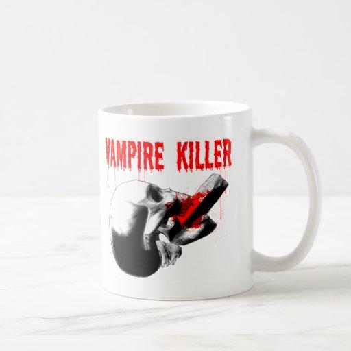 Asesino del vampiro taza
