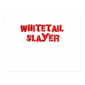 Asesino del Whitetail Tarjeta Postal