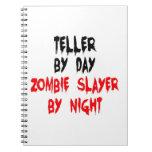 Asesino del zombi de la caja libreta espiral