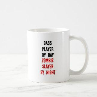 Asesino del zombi del bajista tazas de café
