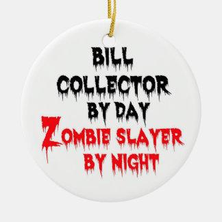 Asesino del zombi del colector de Bill Adorno Redondo De Cerámica