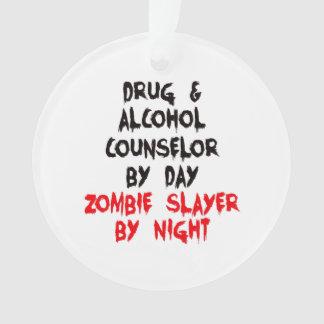 Asesino del zombi del consejero de la droga y del