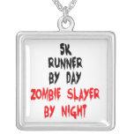 asesino del zombi del corredor 5K Collares Personalizados