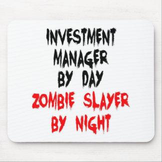 Asesino del zombi del gestor de inversiones tapete de ratón