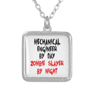 Asesino del zombi del ingeniero industrial pendientes personalizados