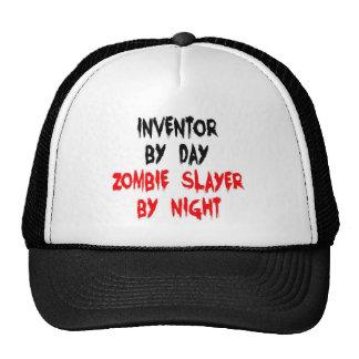 Asesino del zombi del inventor gorro