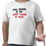 Asesino del zombi del portador de anillo camiseta