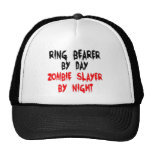 Asesino del zombi del portador de anillo gorro